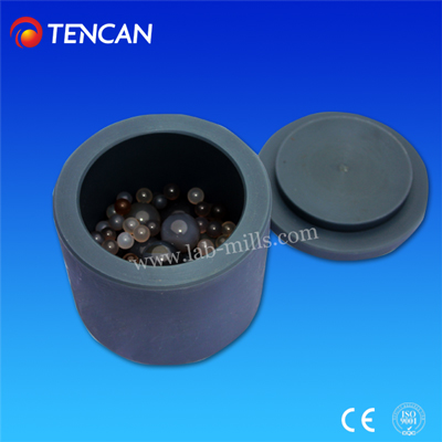 black nylon mill jar for planetary ball mill